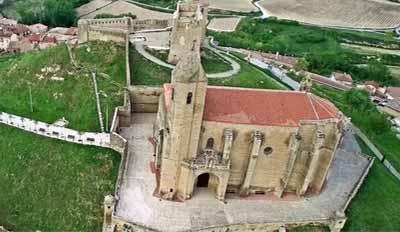 iglesia y castillo de san vicente