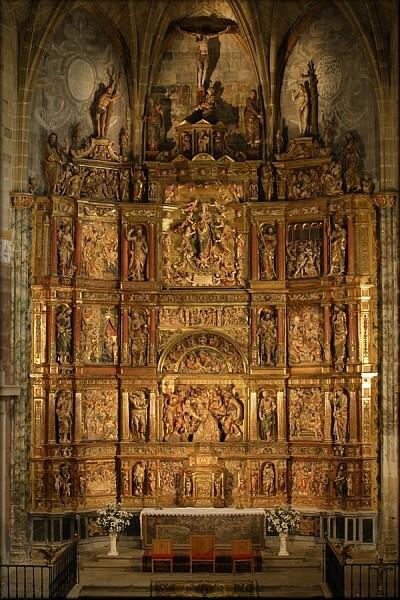 Retablo de la iglesia de San Esteban en Abalos la Rioja