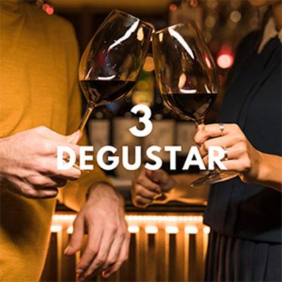 Degustar el vino